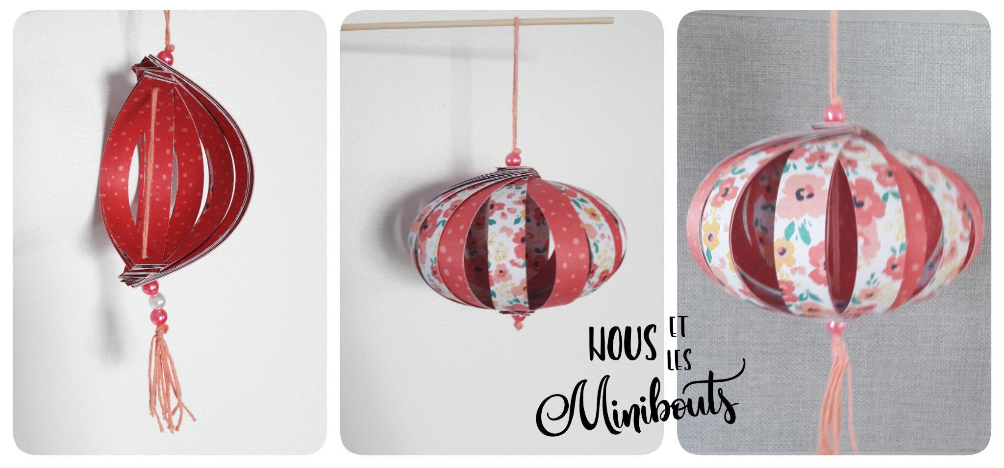 Diy Fabriquer Des Petites Lanternes Chinoises En Papier Nous Et Les Minibouts