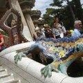 salamandre en mozaique