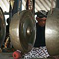 Le gamelan, instrument local