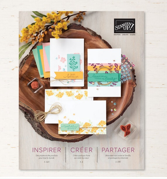 Nouveau catalogue annuel de Stampin'up