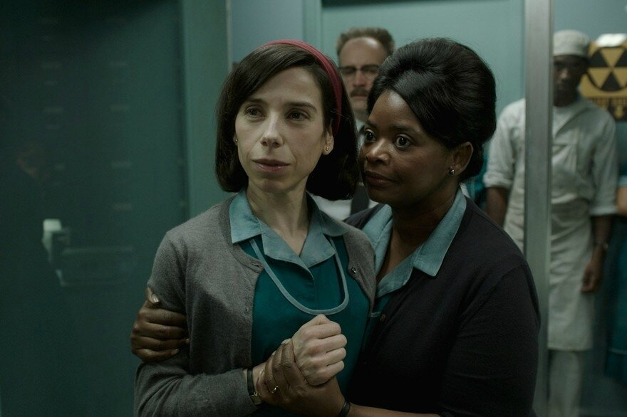 Sally Hawkins et Octavia Spencer
