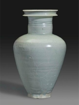 A Northern celadon vase, China, Northern Song dynasty (AD 960-1127)