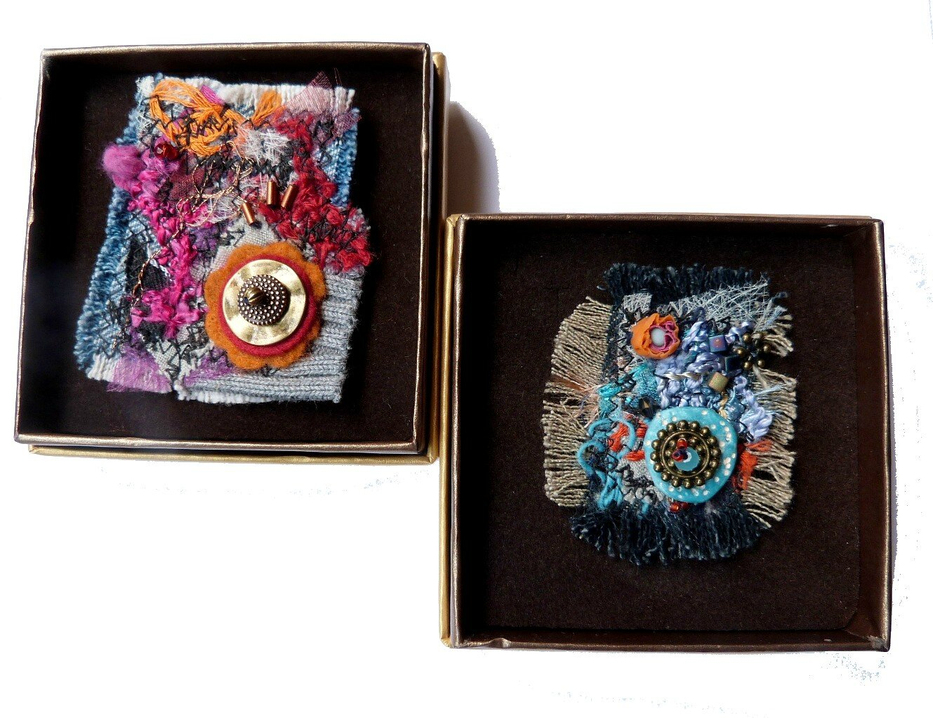 chifonie broches textile I