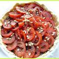 Les incontournables de l'été #2 - la tarte à la tomate