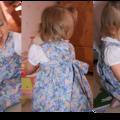 Petite robe froncée