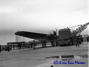 Incident du B-17 F-BEEC Creil 56 via EM