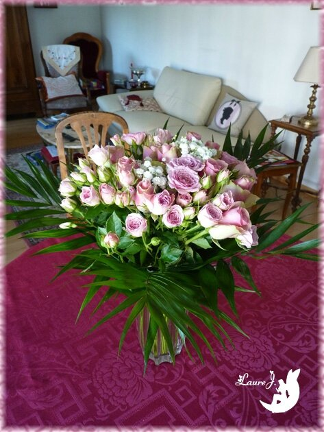 bouquet roses Maman 1