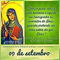 Mensagem do dia 09 de setembro