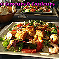 Salade du pêcheur (ou le plein de vitamines, minéraux, omégas, etc.)