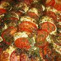 Tarte mozzarella et tomate !