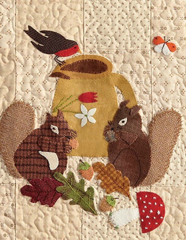 quilt country douceur automnale 6