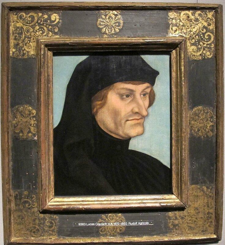 Cranach l'Ancien : Rudolph Agricola (1532) Pinacothèque de Münich