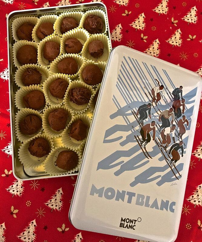 truffes au chocolat noir 2019