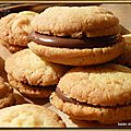 Sablés chocolat-noisettes