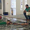 La bibliothèque d'hérouville déménage pour l'été à la piscine
