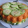 Concombre et carottes gourmets !