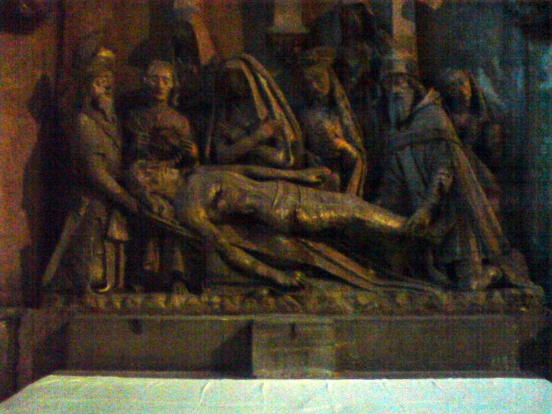 Basilique St Michel, la Mise au Tombeau