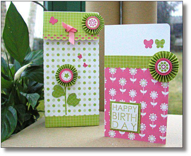 boîte + carte girl