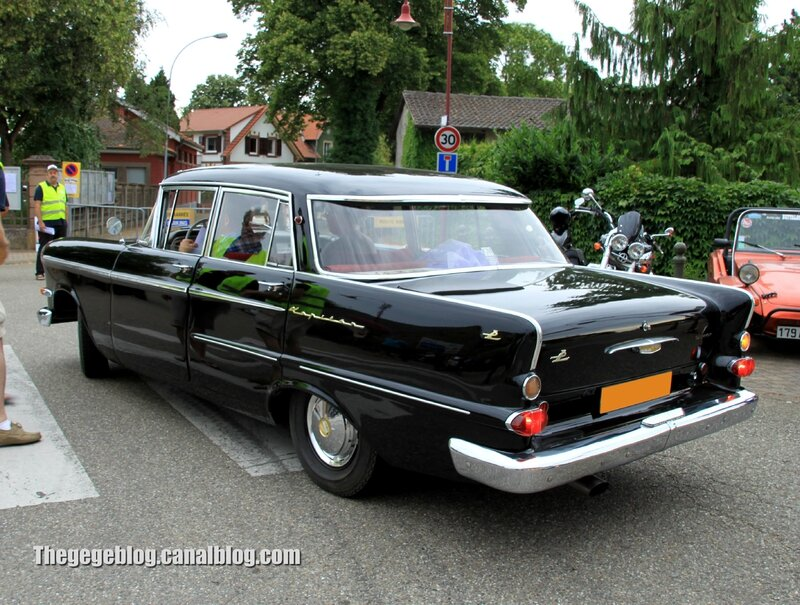 Opel kapitän P2 luxe (1959–1963)(Retrorencard aout 2013) 02