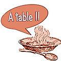 Vendredi 10 avril 2020 - on mange quoi (ce soir) ? idées de repas / menu de la semaine