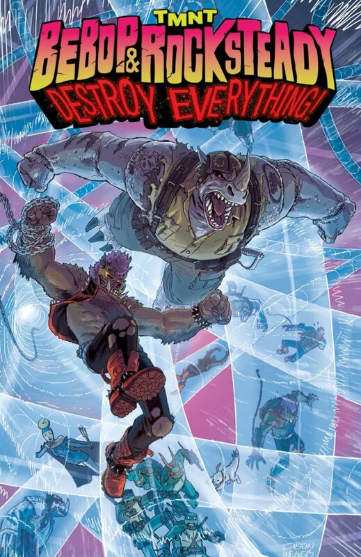 IDW TMNT bebop & rocksteady destroy everything TP