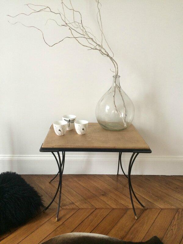 table basse pieds courbés 1