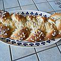 Brioche légère au petits suisse et au yaourt