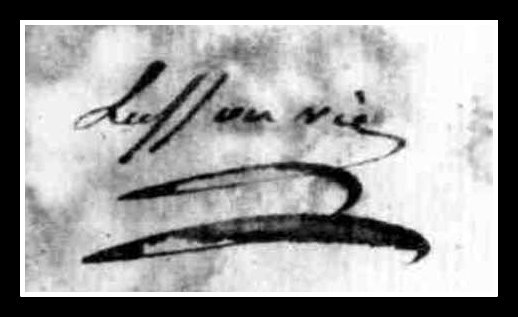 signature Lusson
