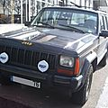 Jeep cherokee xj by renault (1984-1992)