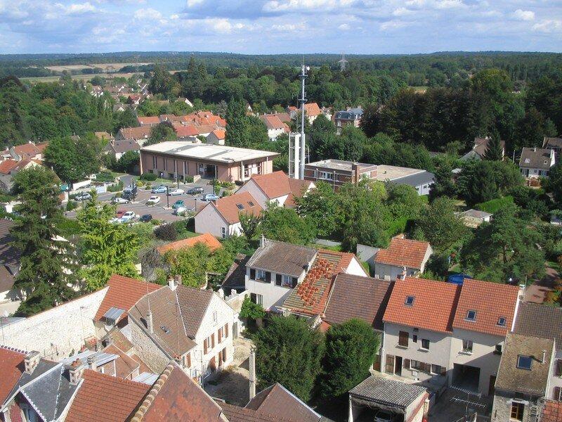 Viarmes (vue depuis le clocher de l'église)