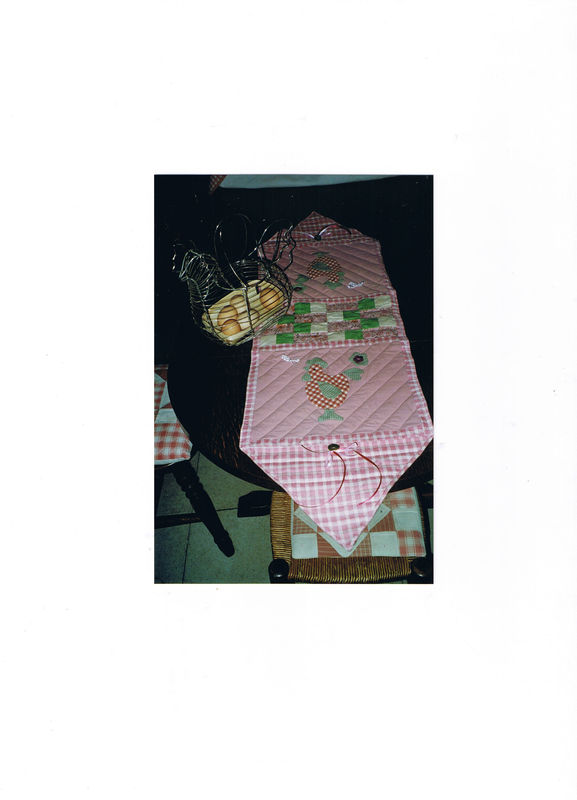 table runner poules photo