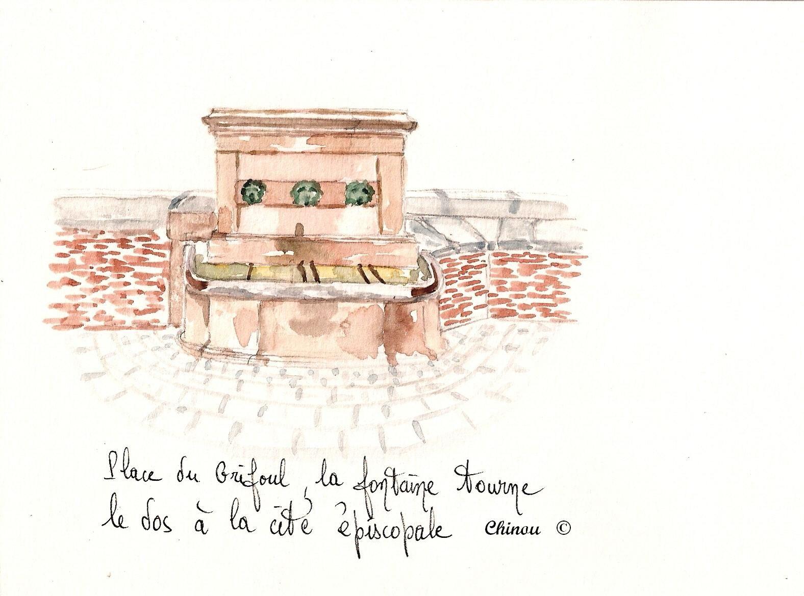 Albi Place du Grifoul