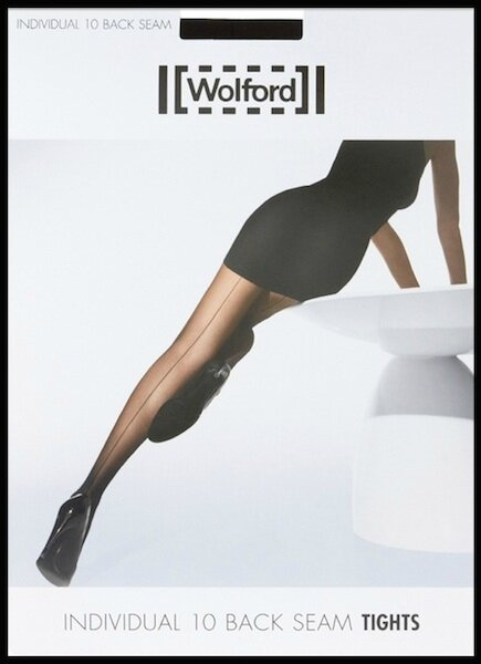 wolford collant individual 10 back seam 2