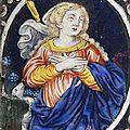 Sainte agnès, limoges, xviième siècle