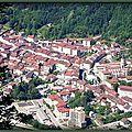 Nantua vu des Monts d'Ain (Ain)