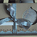 Pochette cadeau noel