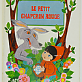 Livre collection ... le petit chaperon rouge (1970) * pop-up