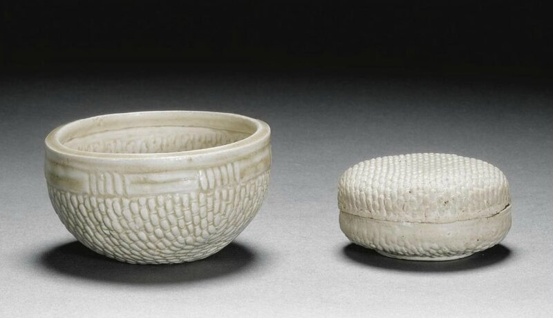 A rare 'basket-weave' cup, Song dynasty (960-1279)