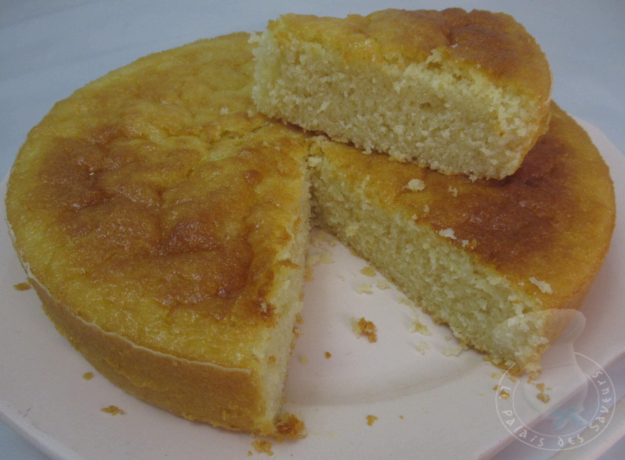 Gâteau au lait et à la semoule