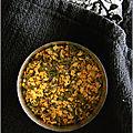 Bouillon aux poireaux, pied de brocoli & vermicelles (+ bouillon de légumes en poudre express)