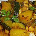 Petit ragout de legumes aux epices