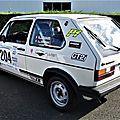 Rally du monbrisonnais vhc 42 2018 3em n° 204 wv gti