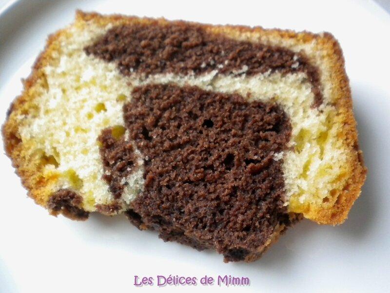 Marbré au chocolat pour le Blue Monday 3