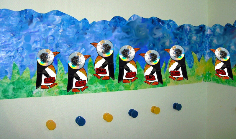 361-OUTILS et DECO POUR LA CLASSE- Les p'tits canards et les p'tits pingouins (59)
