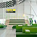 Schiphol salon depart lounge 4 par tjep.