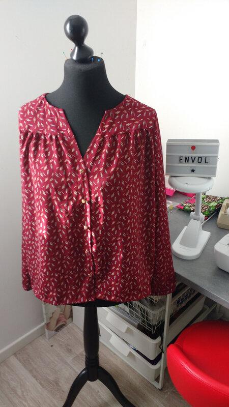 blouse envol