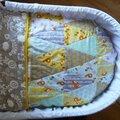 Baby triangle quilt / couverture bébé en patchwork