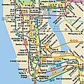 En métro jusqu'au bronx
