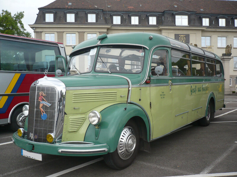 MERCEDES O3500 Reisebus 29 places assises 1953 Speyer (1)