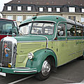 Mercedes o3500 reisebus 29 places assises 1953